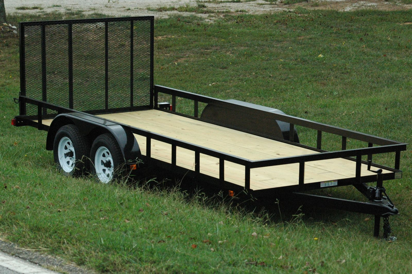 Landscape utility trailers currahee trailers mount airy for Garden design trailer